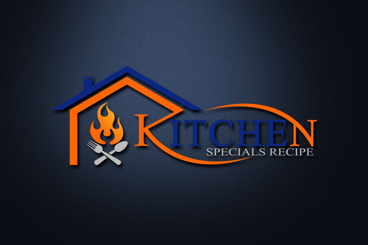 Free Kitchen House PSD Logo Design