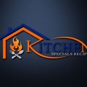 Free Kitchen House PSD Logo Template
