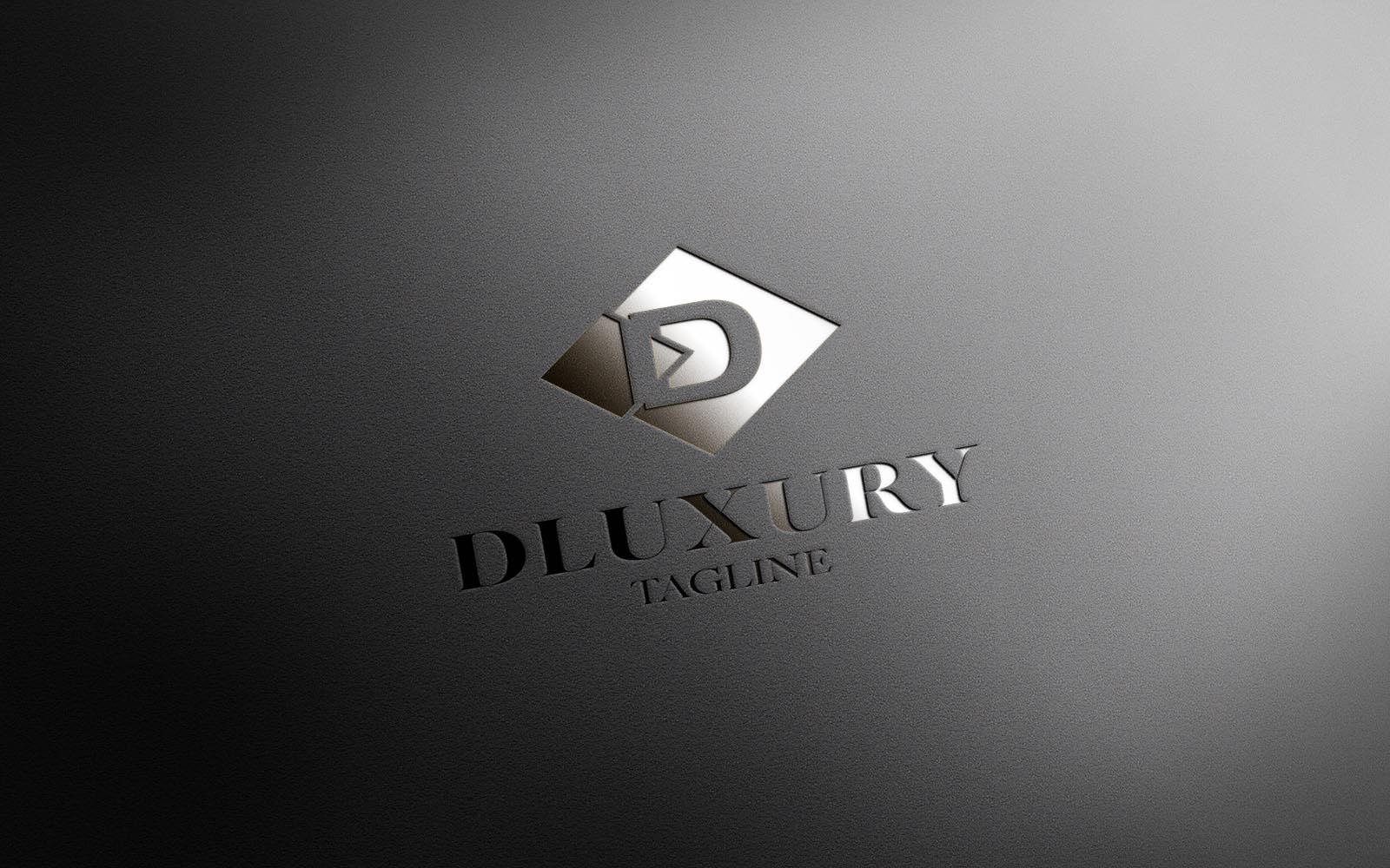 Luxury D Logo Design