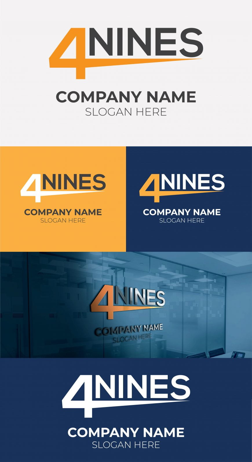 4-NINES-LOGO-DESIGN-FREE-TEMPLATE-1-scaled