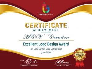 ACV-Creation-Excellent-Logo-Design-Award-Certificate