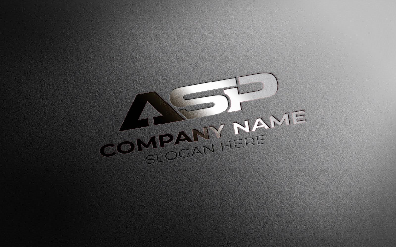 ASP LETTER LOGO DESIGN
