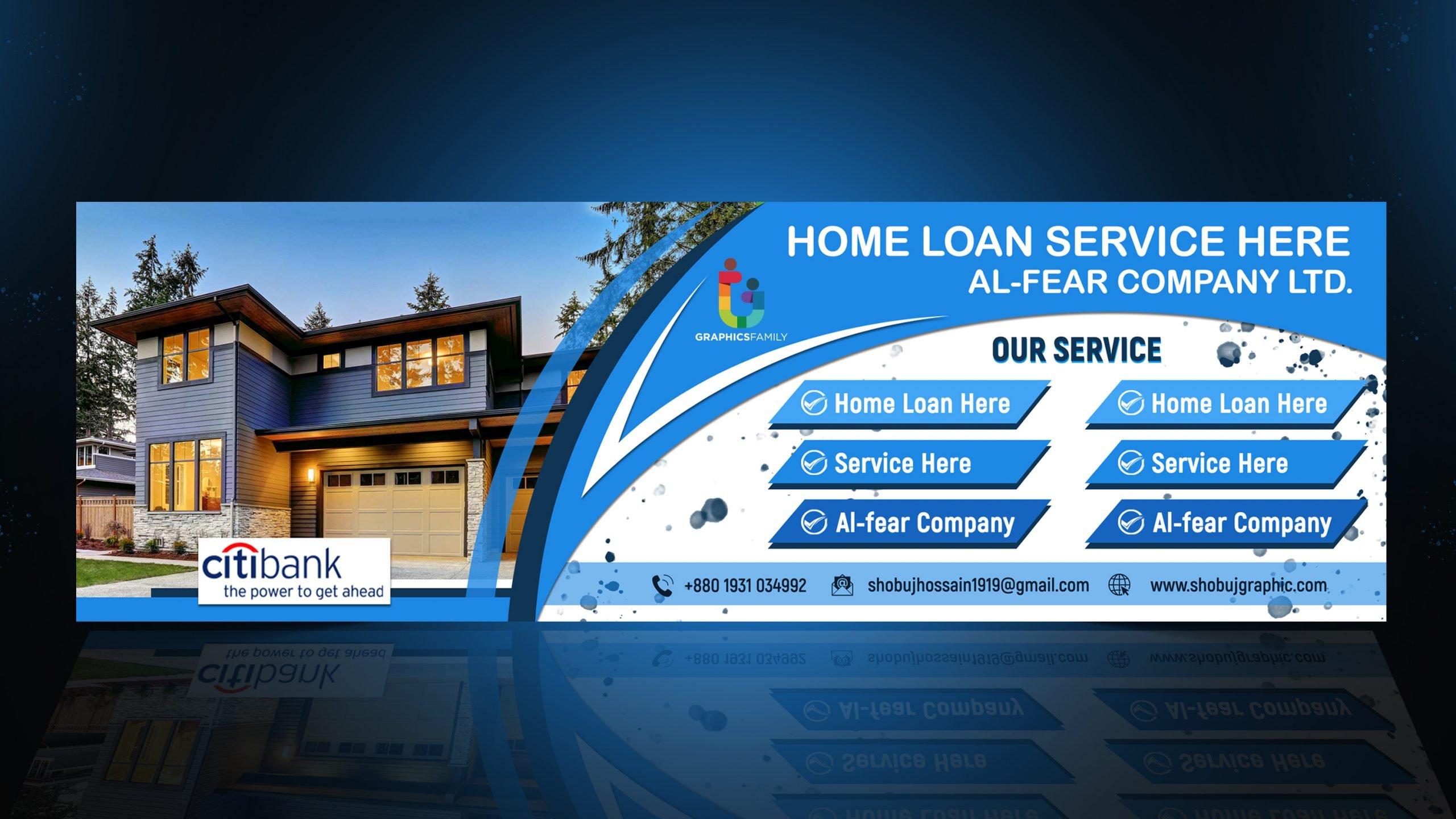 Bank Service Web Banner