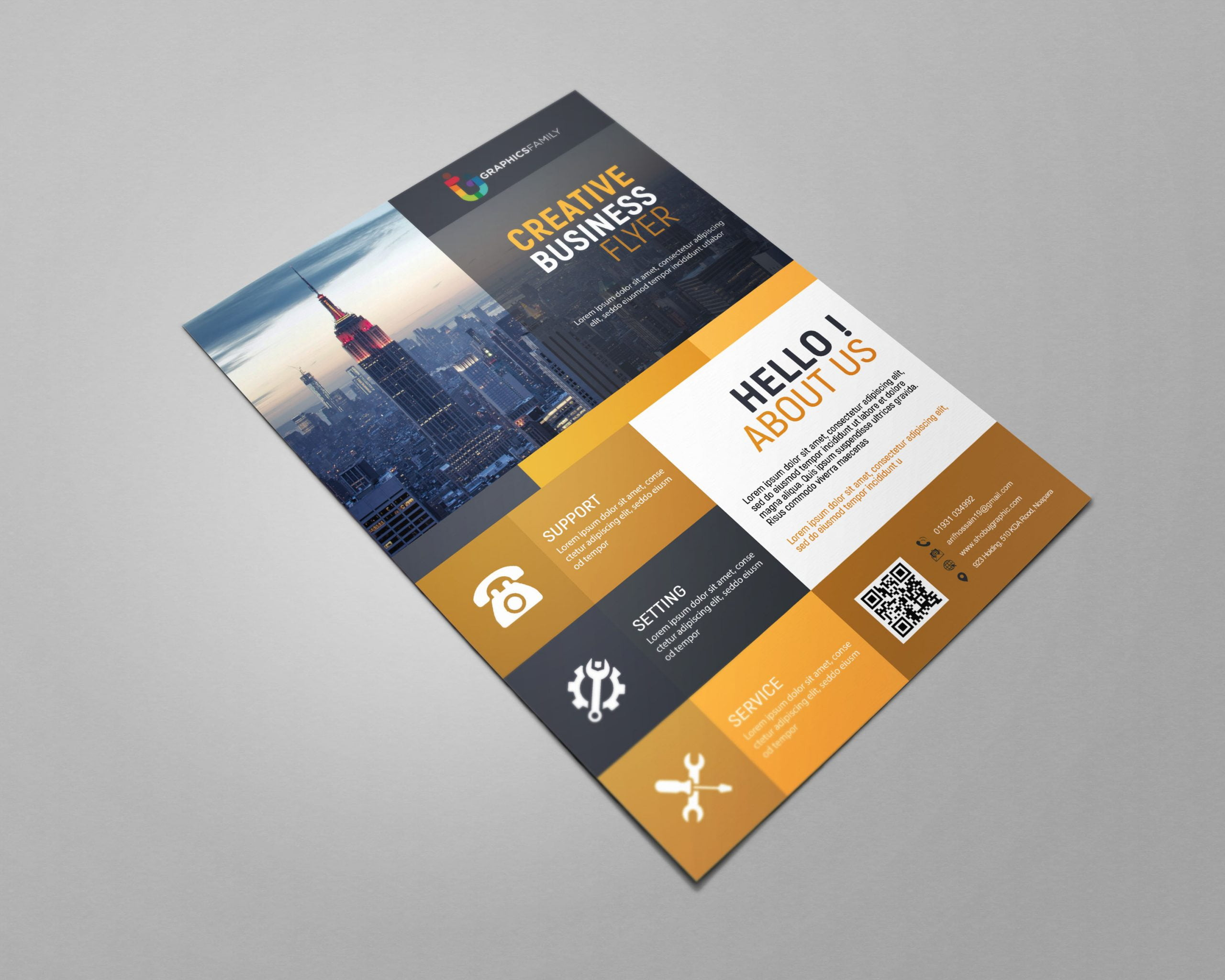 Business Flyer Free Design