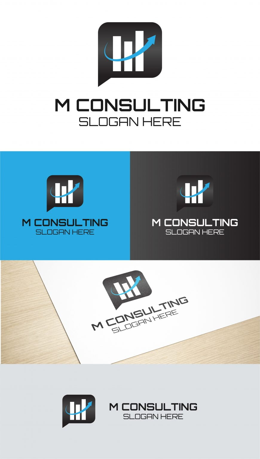 CONSULTING LOGO DESIGN TEMPLATE
