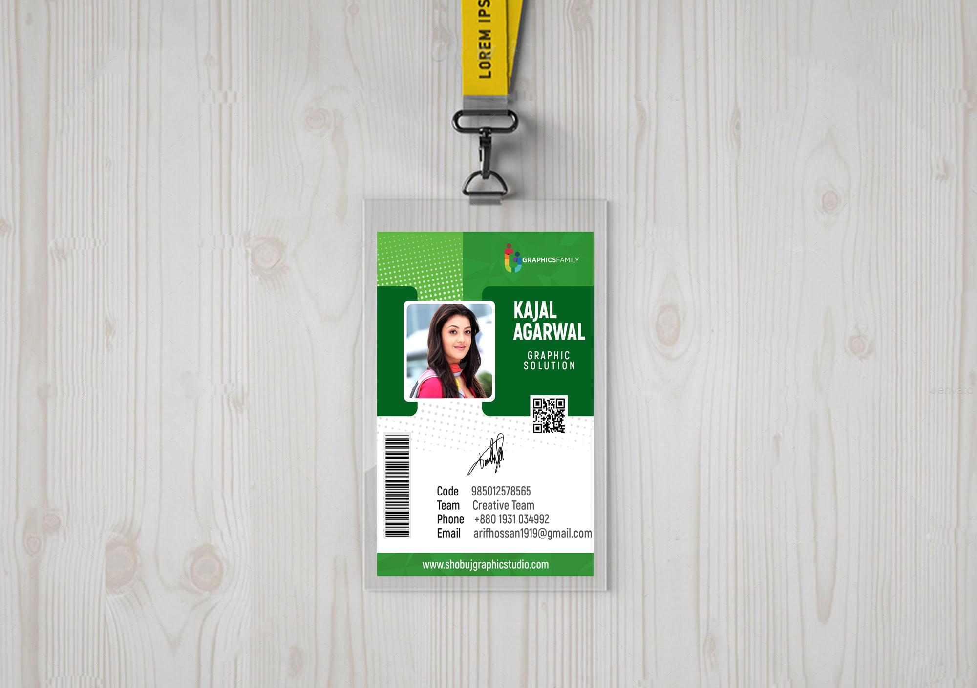 Corporate Identity card design