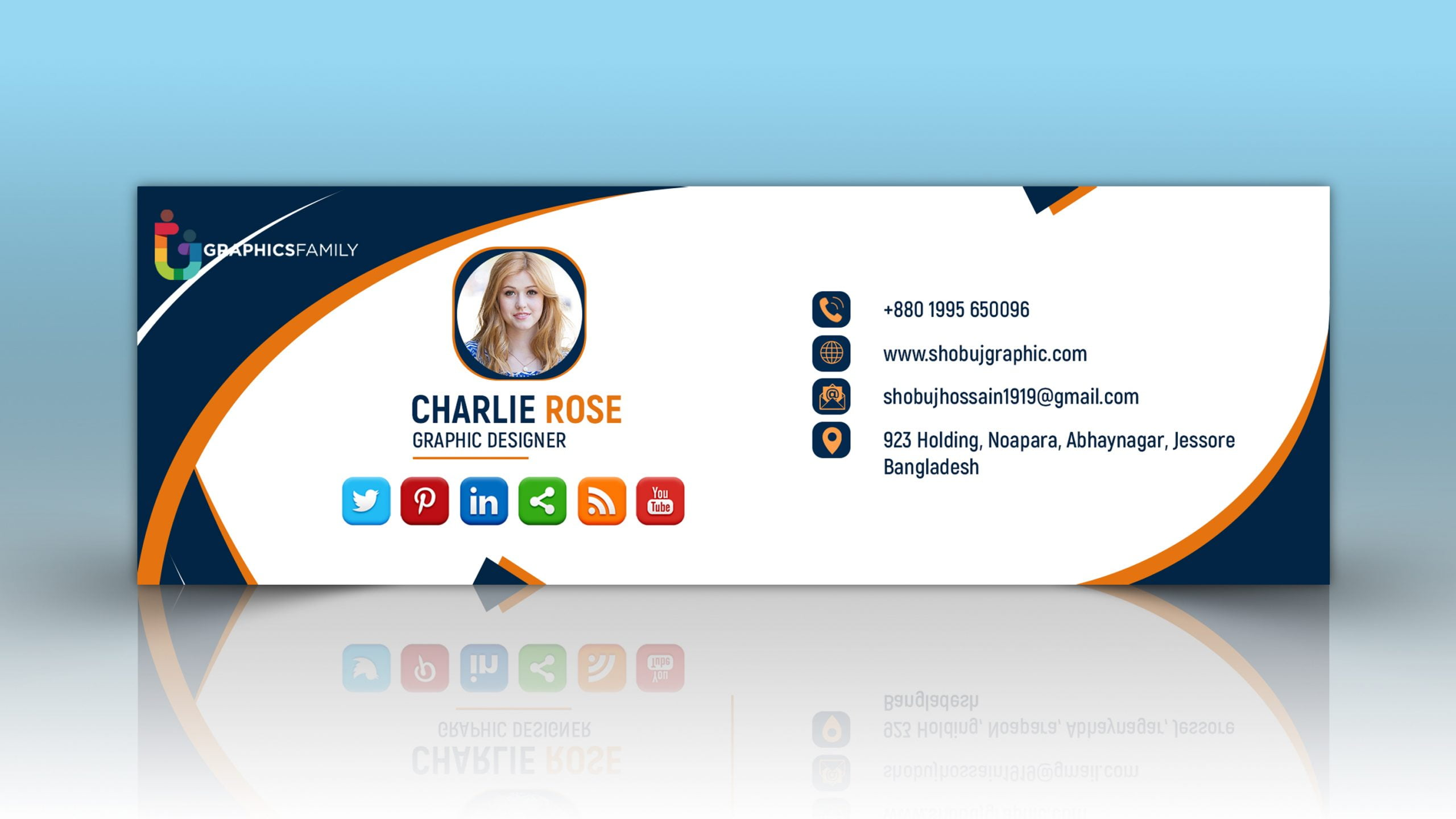 Creative Email Signature Design Jpeg