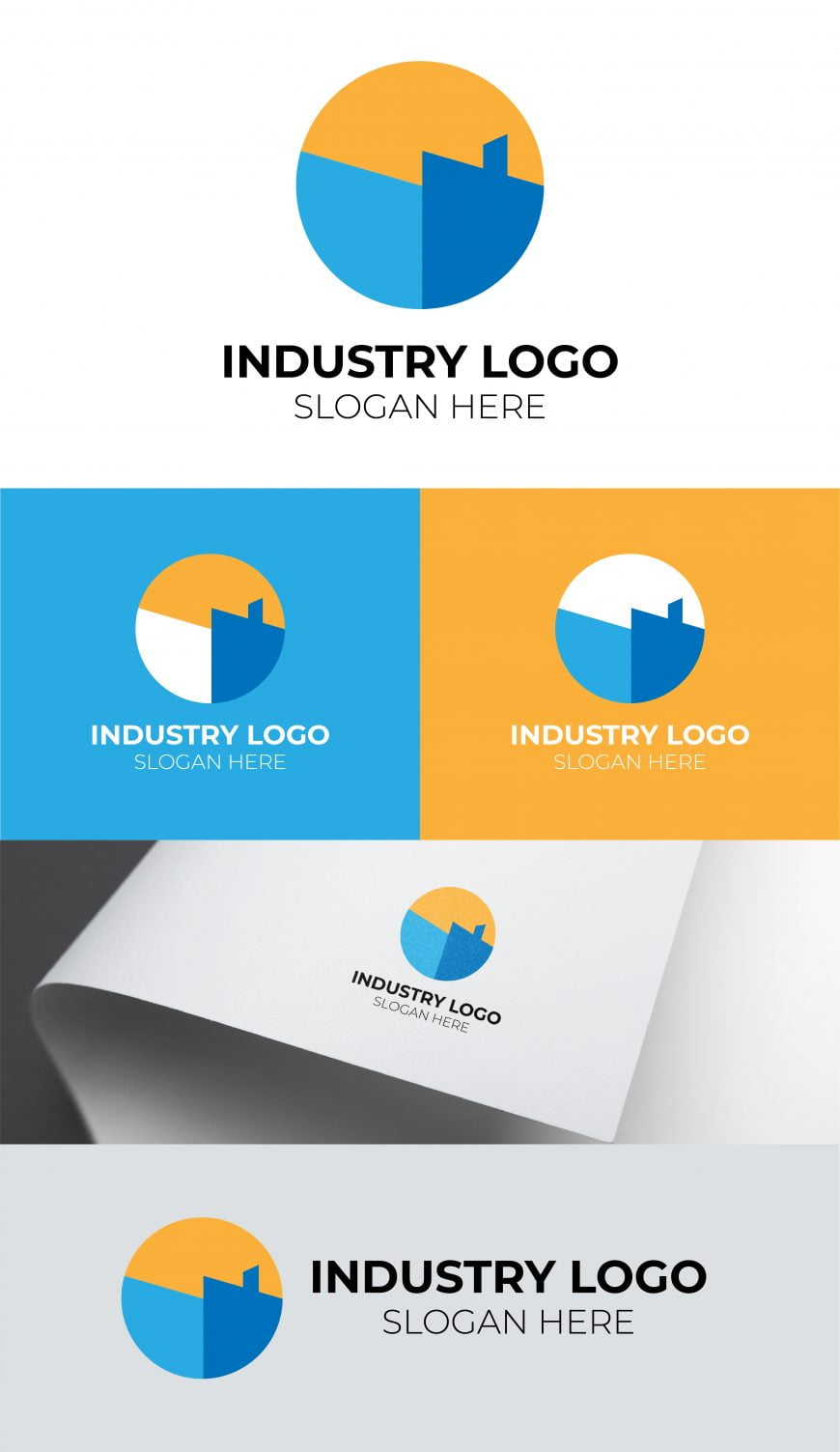 FREE INDUSTRY LOGO TEMPLATE