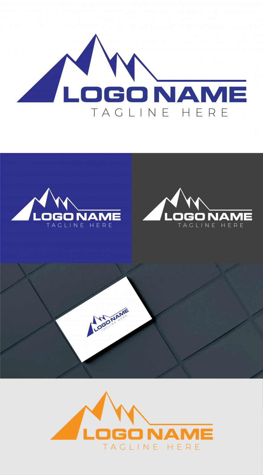 FREE MOUNTAIN LOGO TEMPLATE