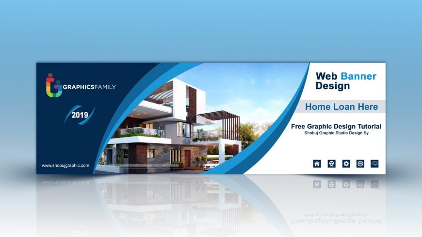 Home Loan Service Web Banner Free PSD