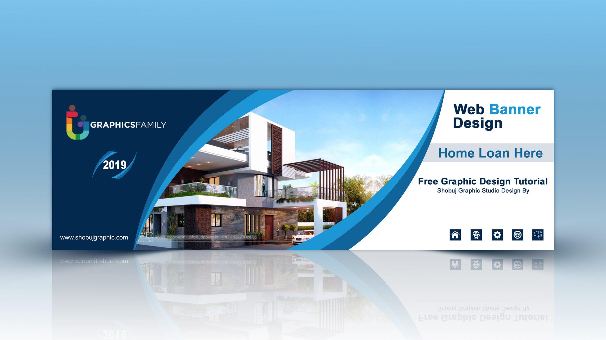 Home Loan Service Web Banner Free PSD