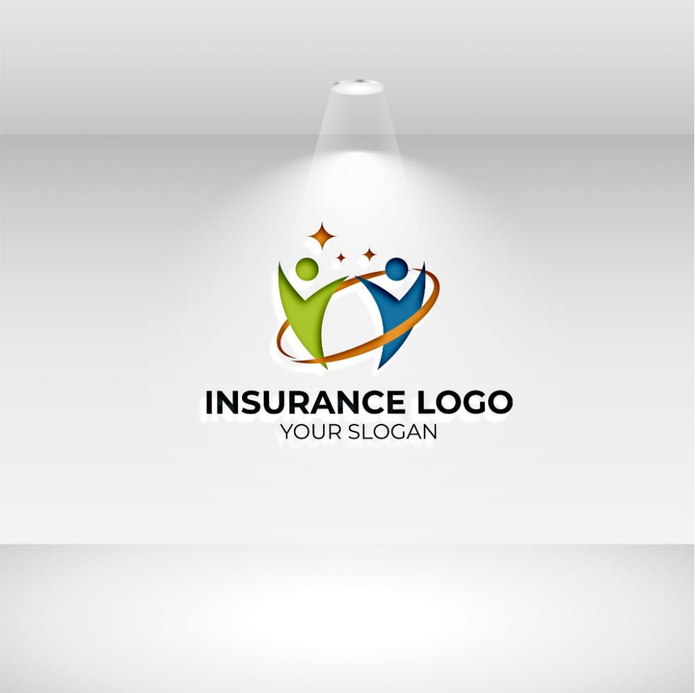 INSURANCE LOGO WITH WHITE BACKGROUND