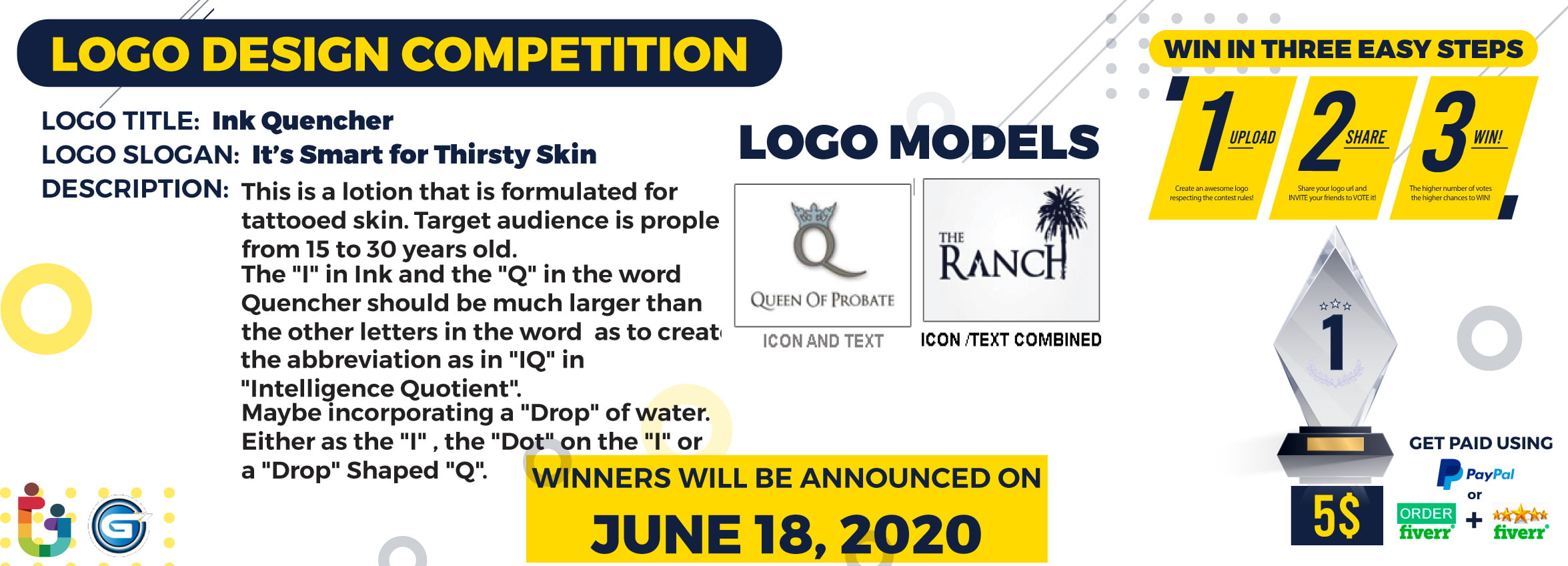 Ink-Quercher-Logo-Design-Contest-