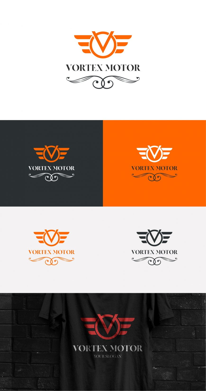 LUXURY CAR LOGO TEMPLATE