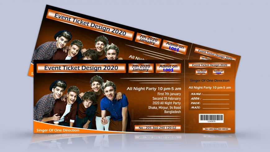 Musical-Party-Event-Ticket-Free-Psd-scaled