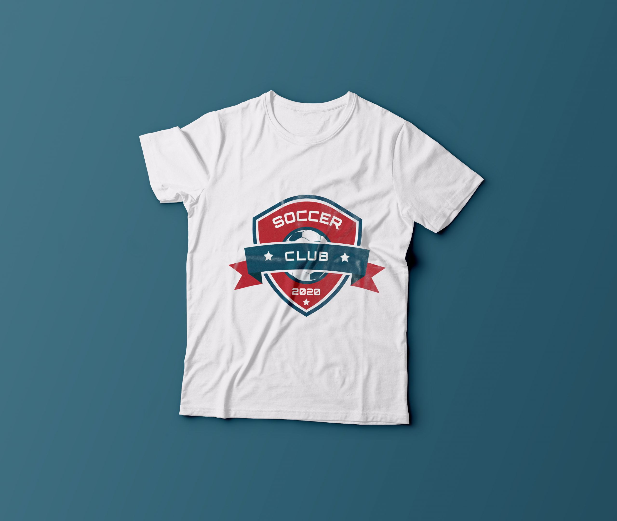 SPORTS LOGO ON TSHIRT