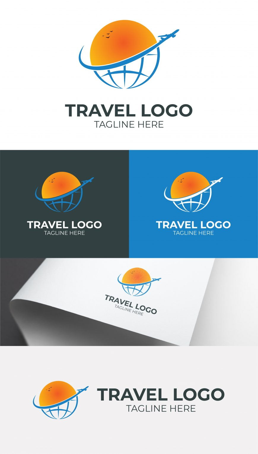 TRAVEL LOGO FREE TEMPLATE