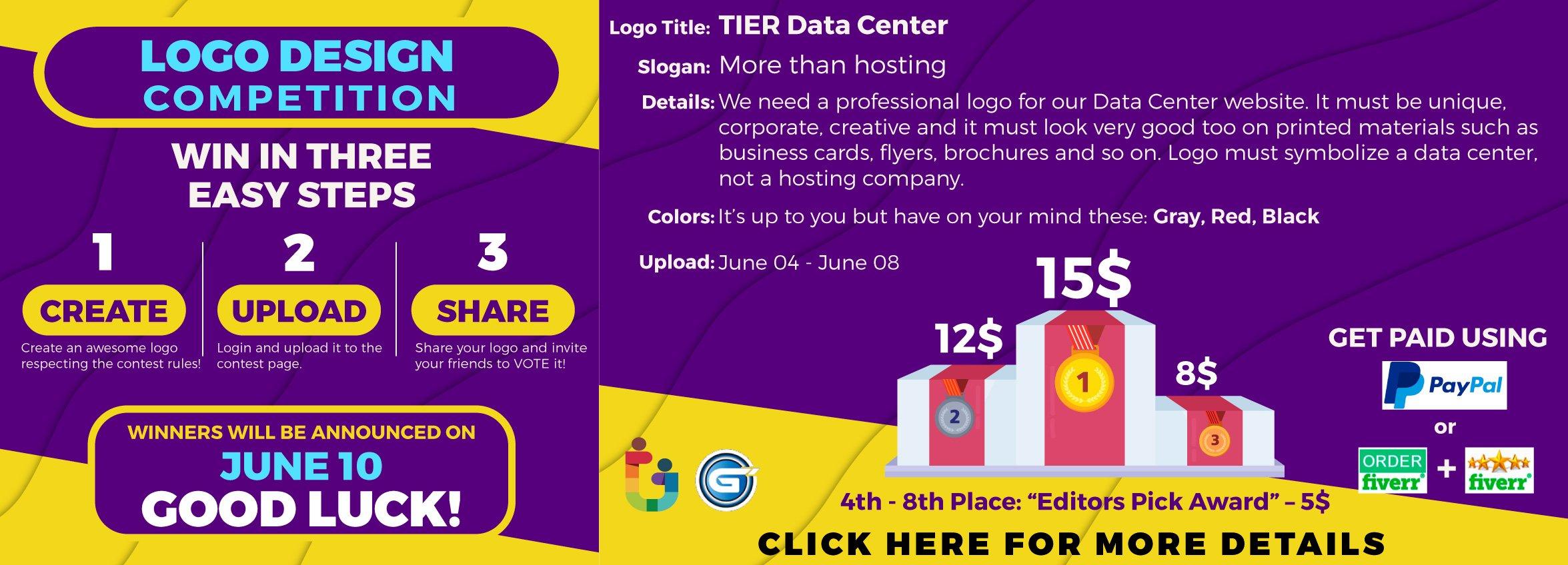 Tier Data Center Logo Design Competition