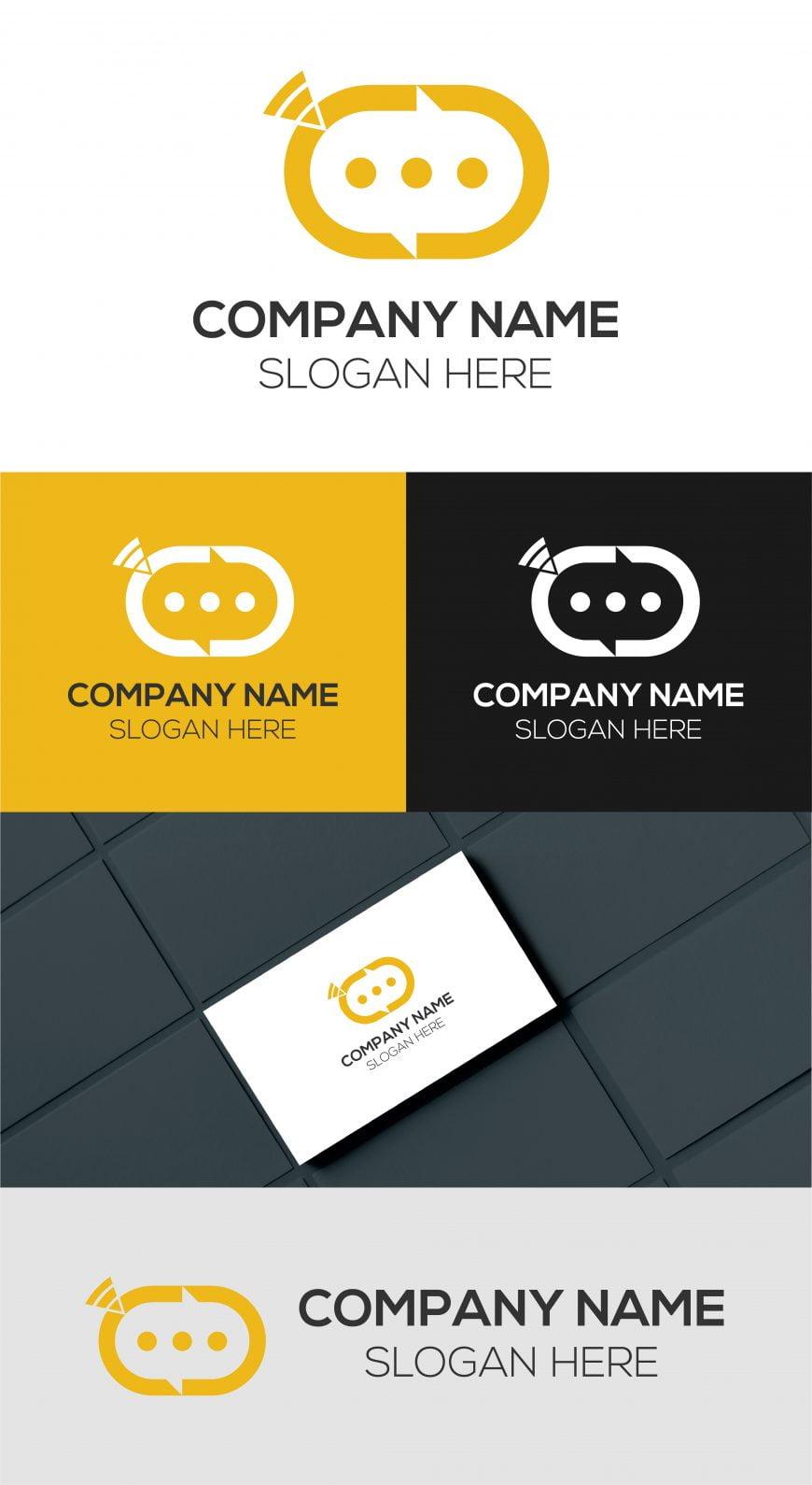 Free Communication Logo Design