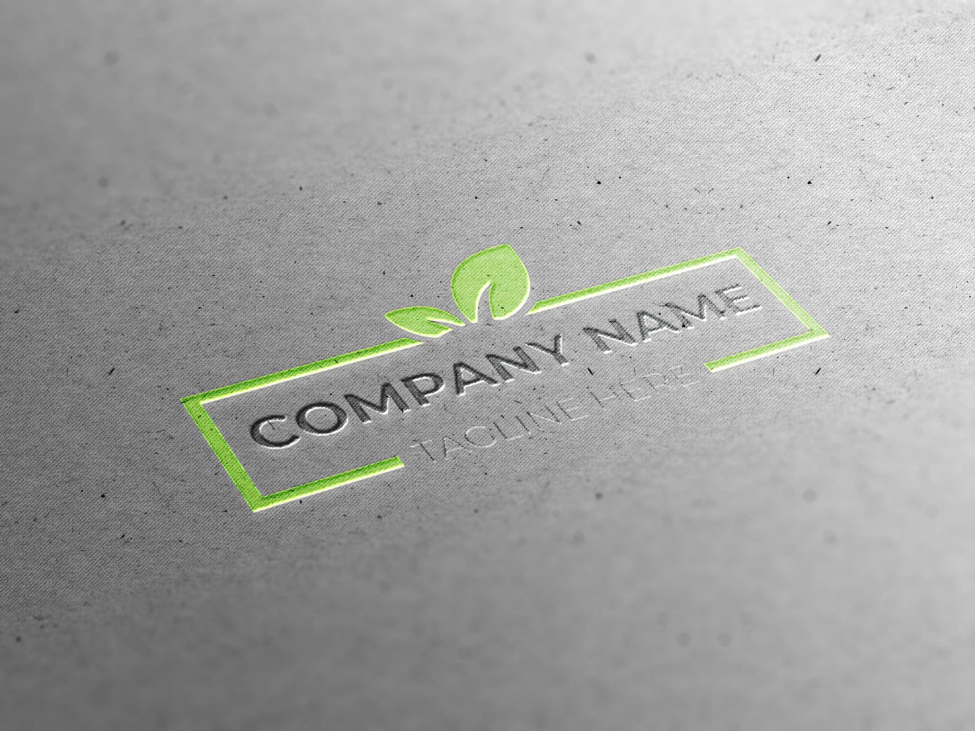 green logo free vector download