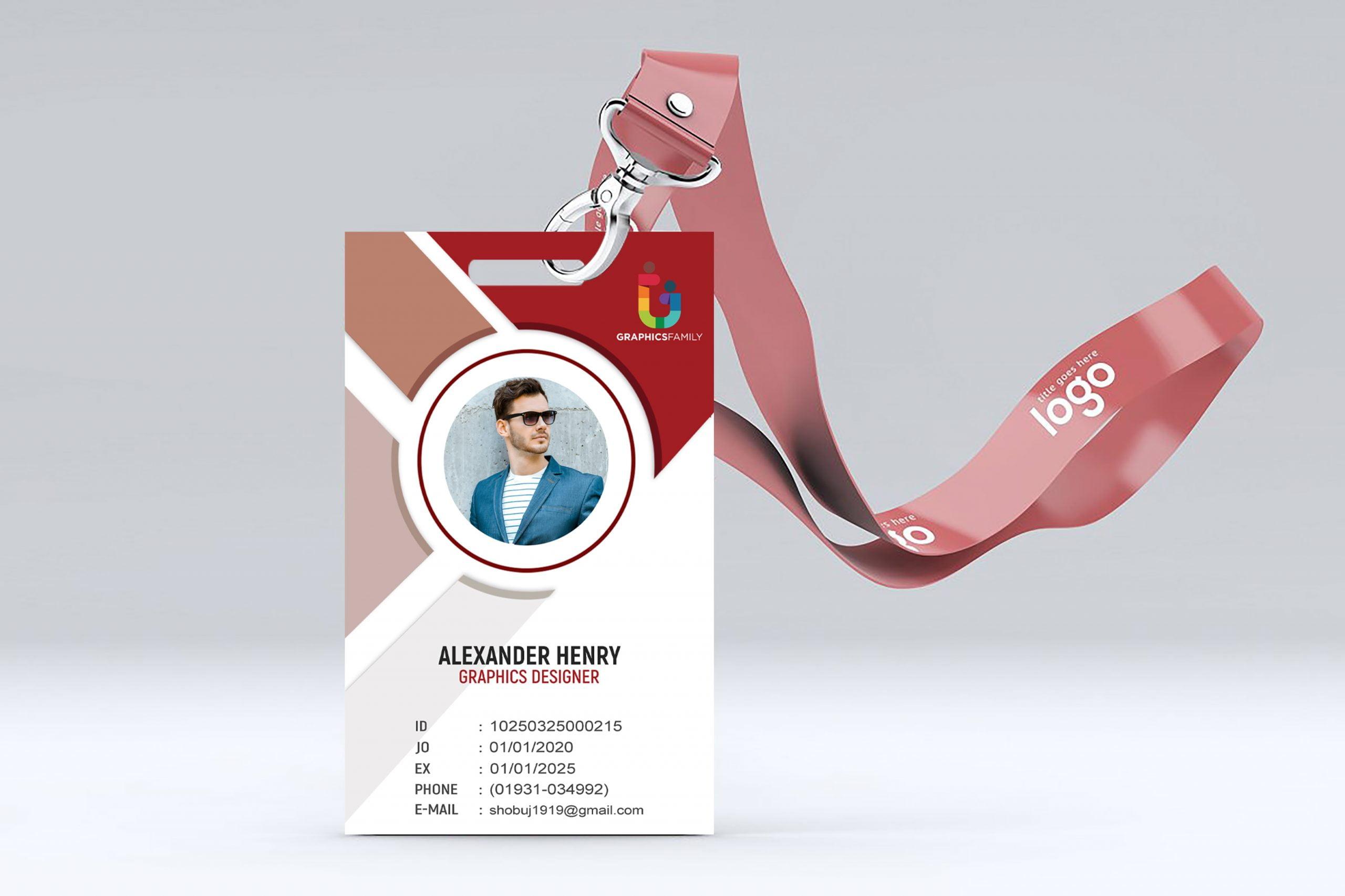 id card free template