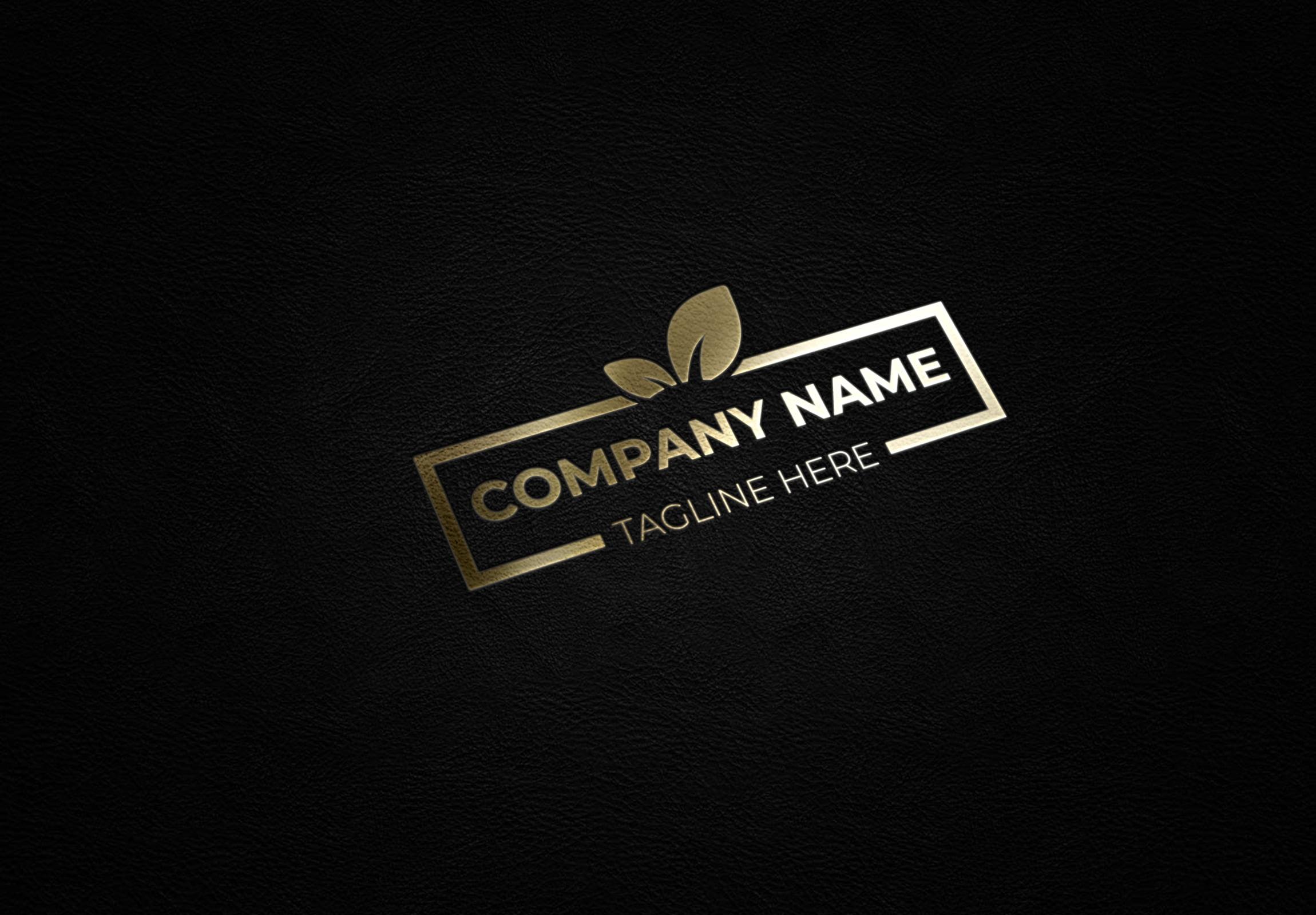 luxury green logo design