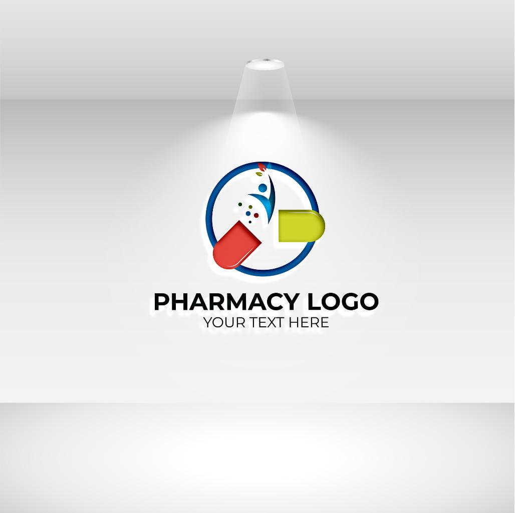 pharmacy logo white background