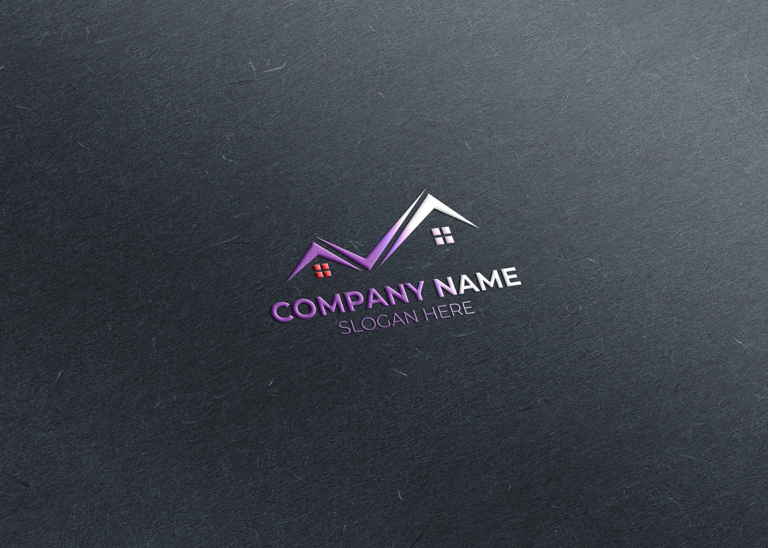 real estate logo free design