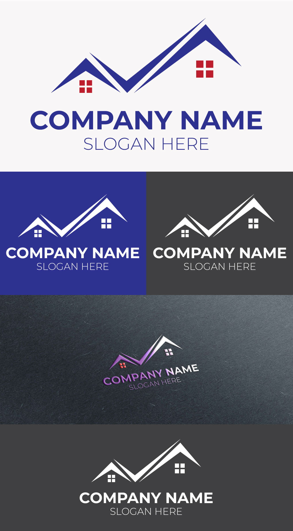 real estate logo free template