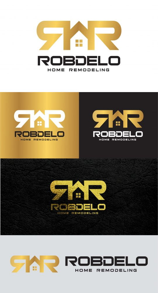 Home Remodeling Real Estate Logo