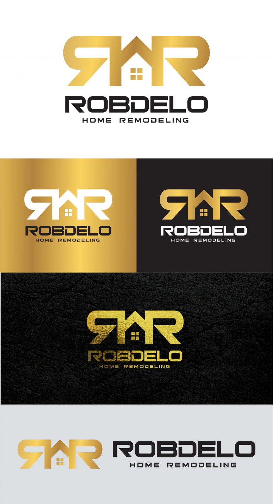 Home Remodeling Real Estate Logo