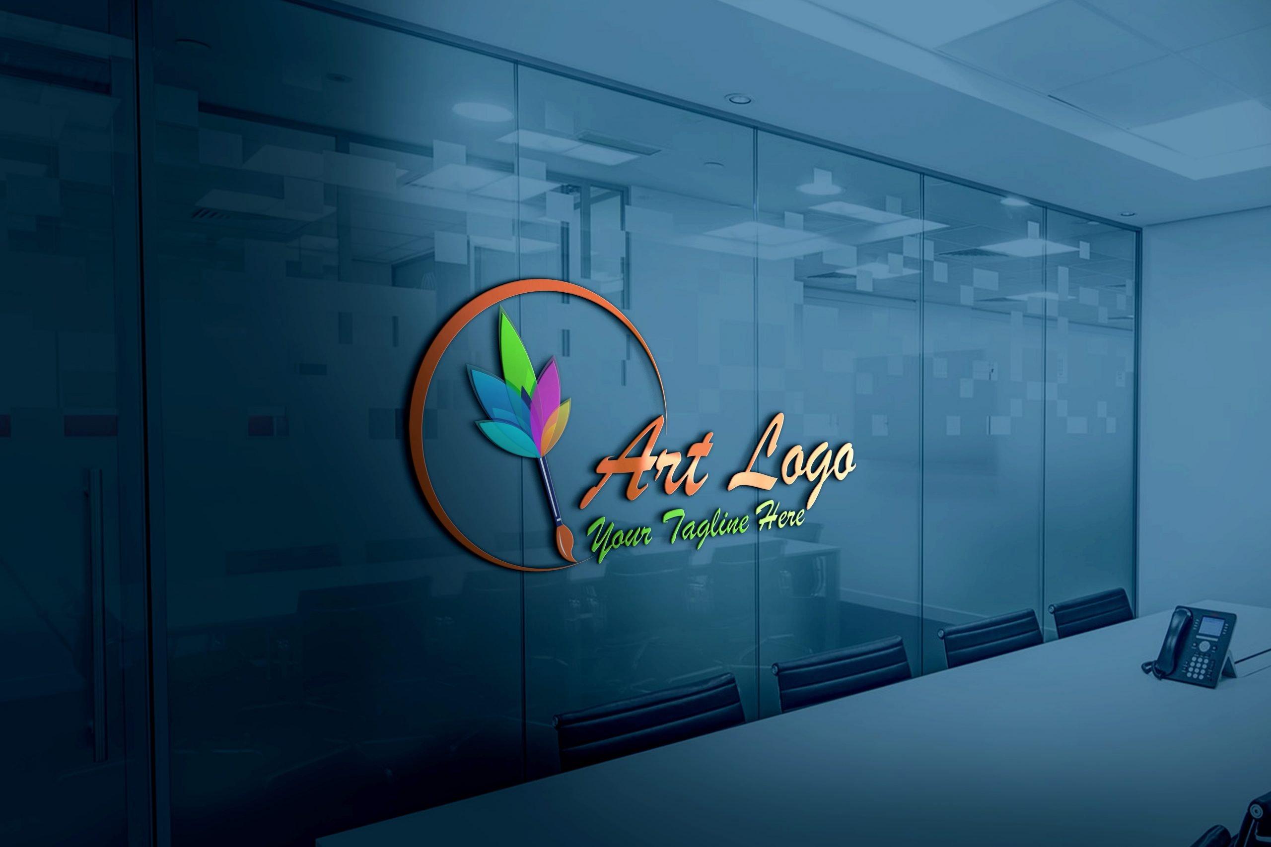 Art Logo - Easily Make Artistic Logo Design office glass