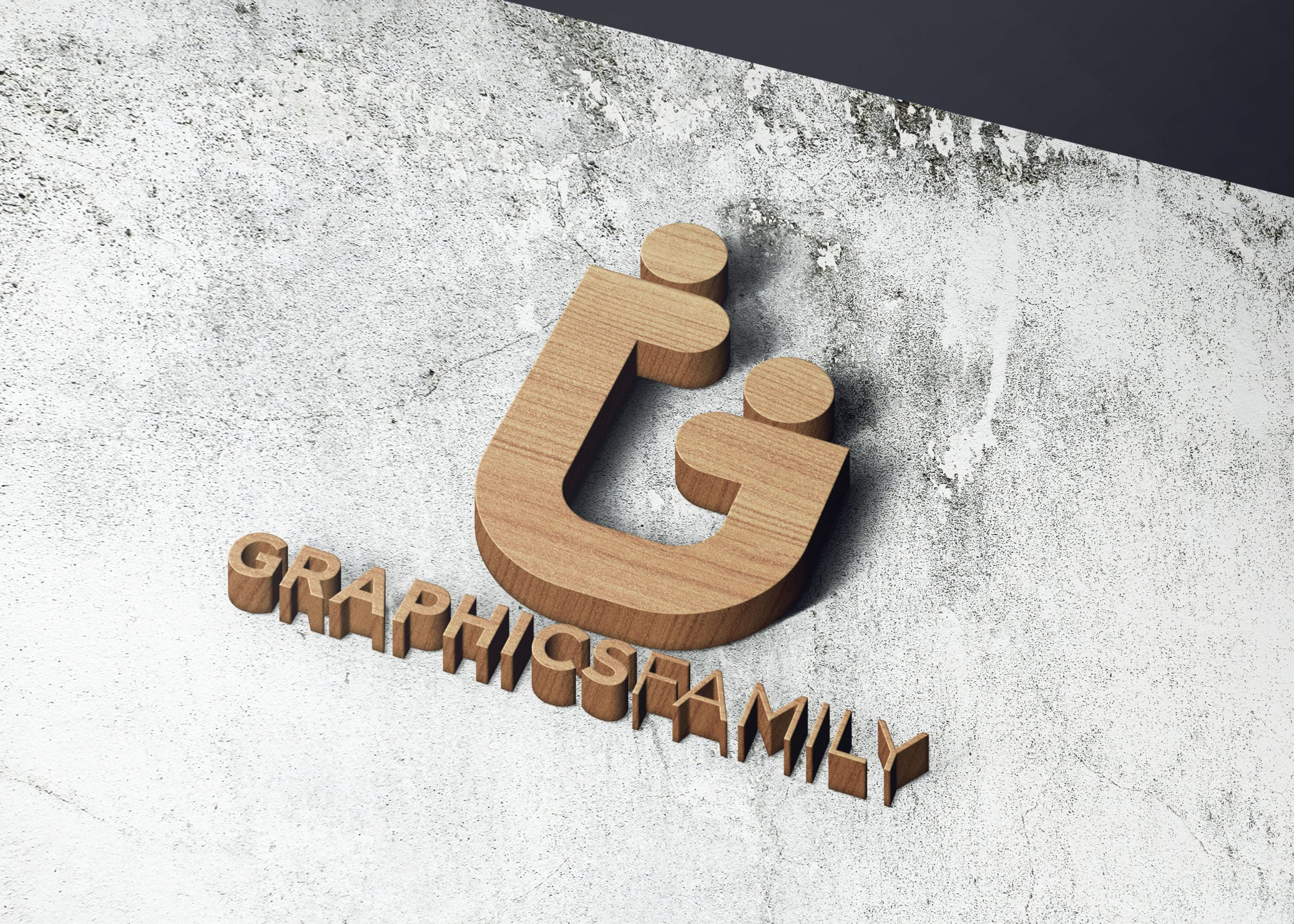 Graphicsfamily on realistice 3d wall