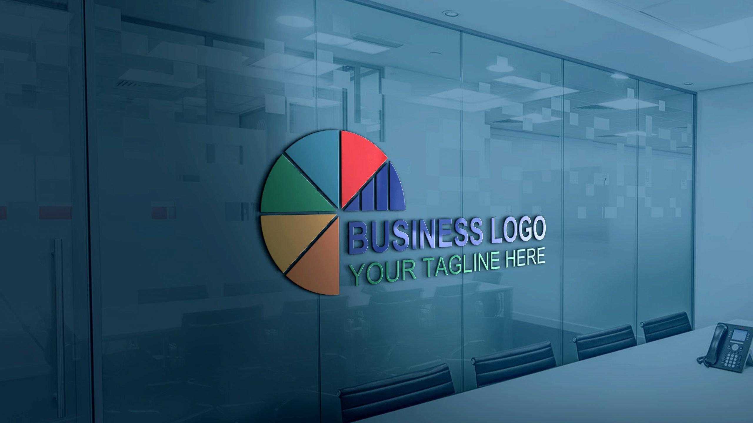 Business marketing logo design template