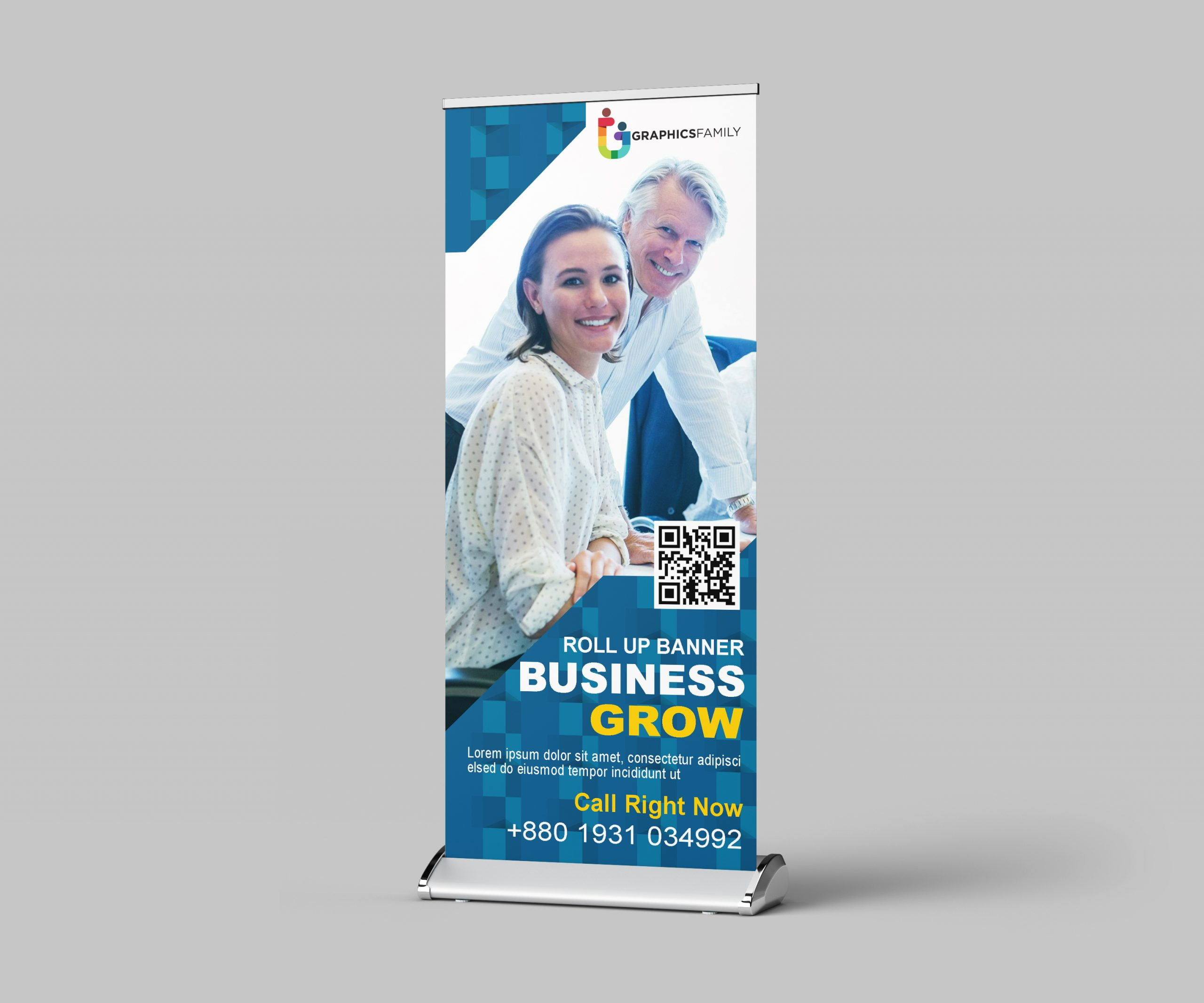 Design Roll Up Banner for Business