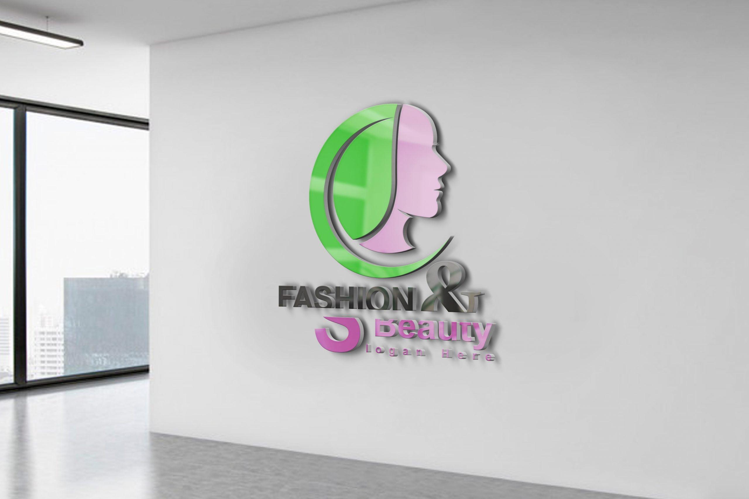 Fashion & Beauty Logo Design Free psd