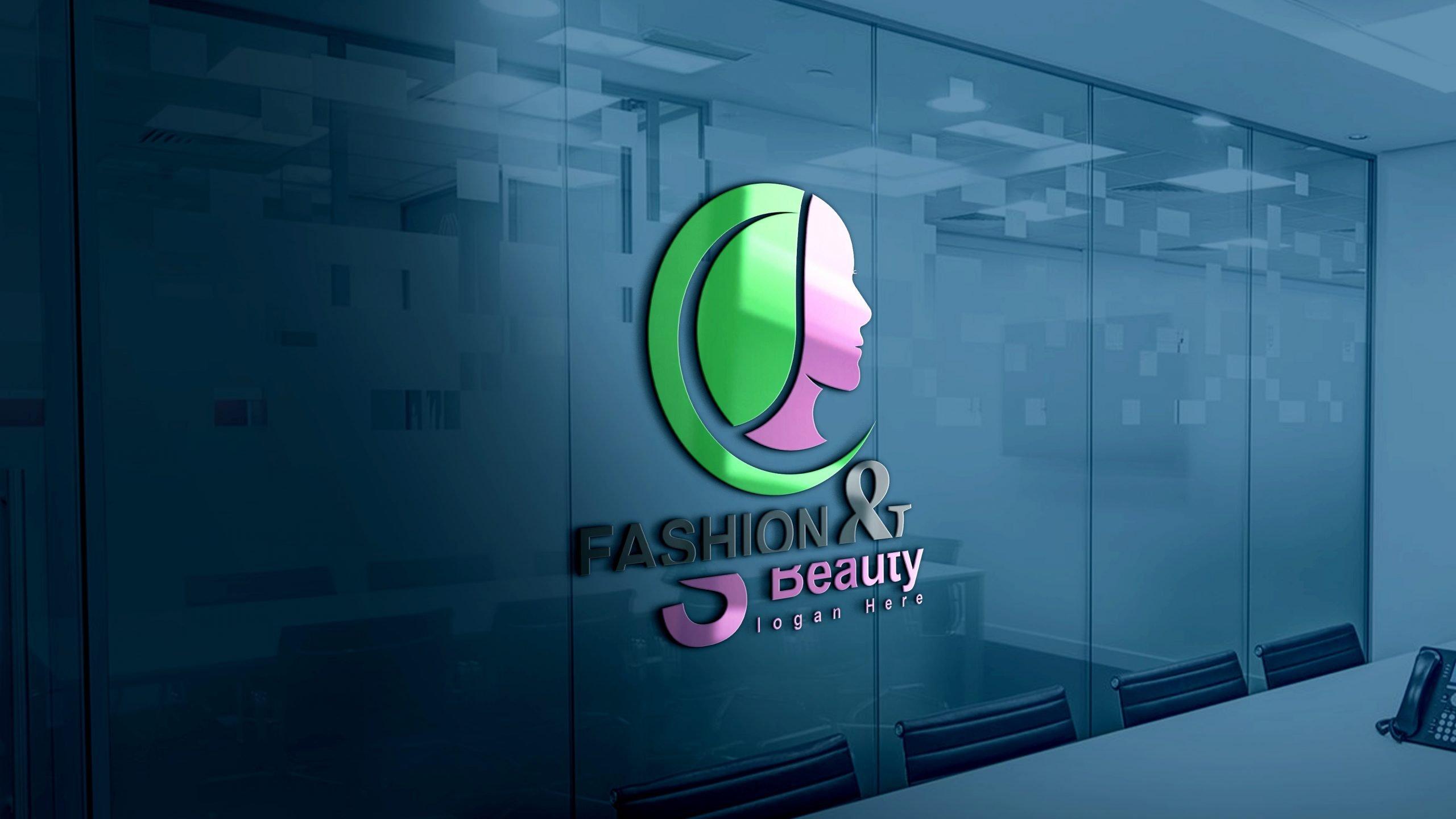 Fashion & Beauty Logo Design office wall