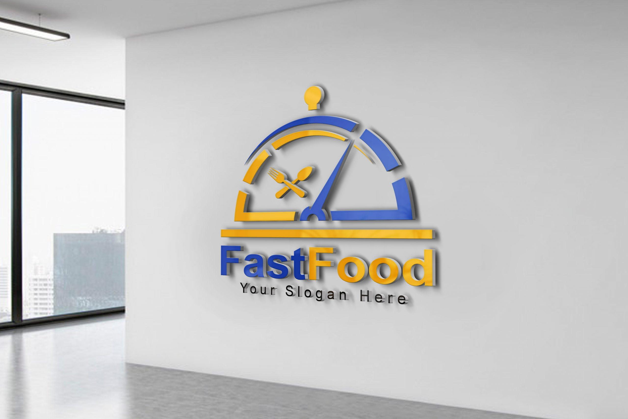 Fast food logo design Template free