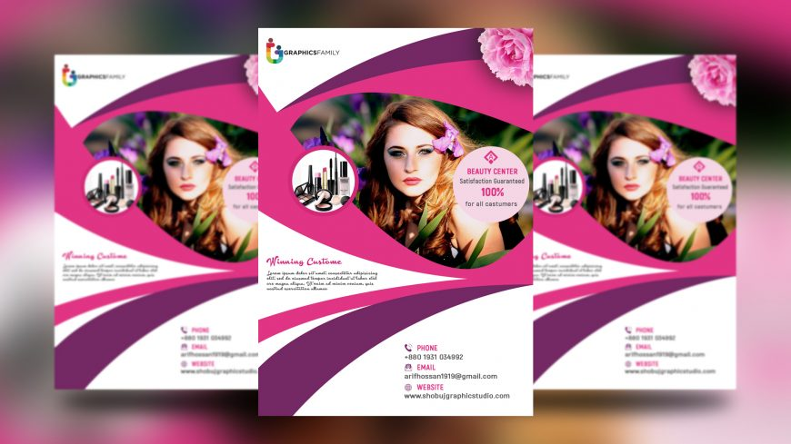 Flyer-Design-with-Beauty-Salon
