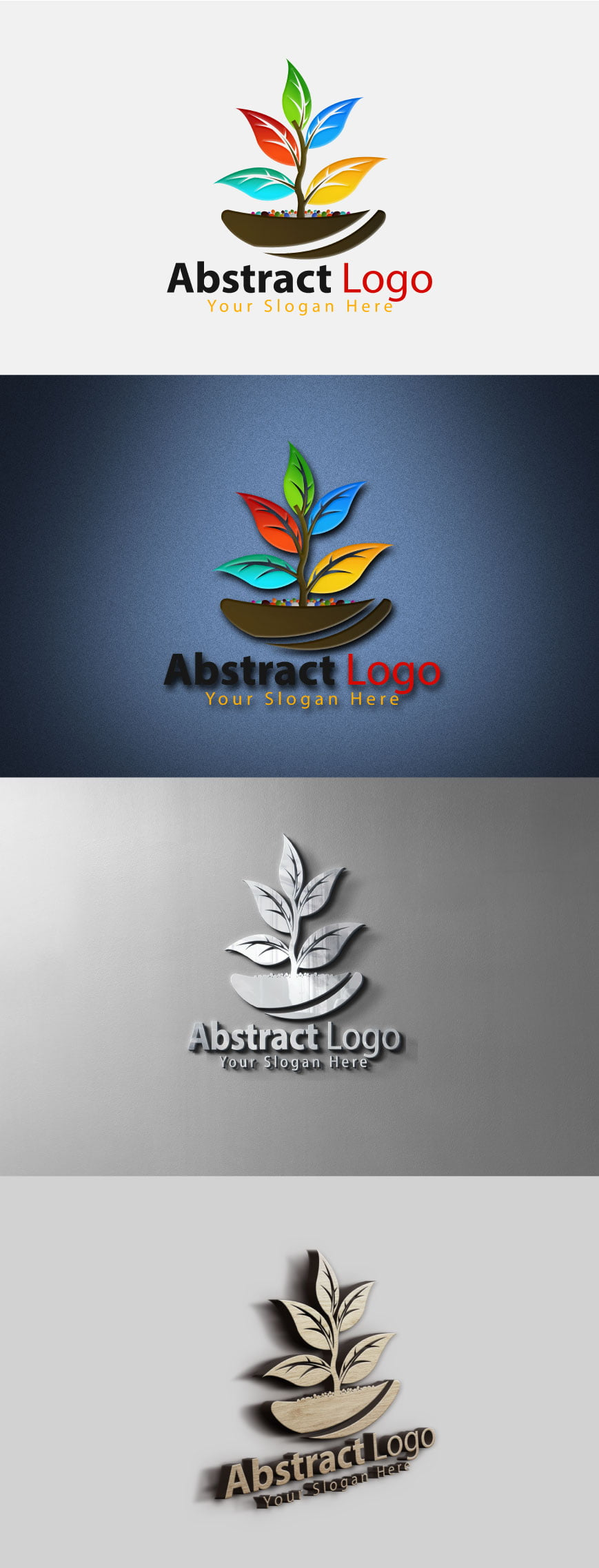 Free Abstract Logo Template