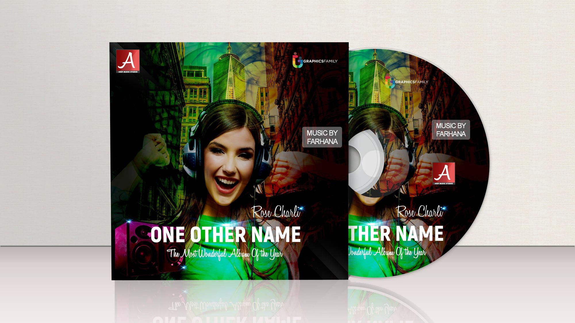 Free DVD Cover Design psd