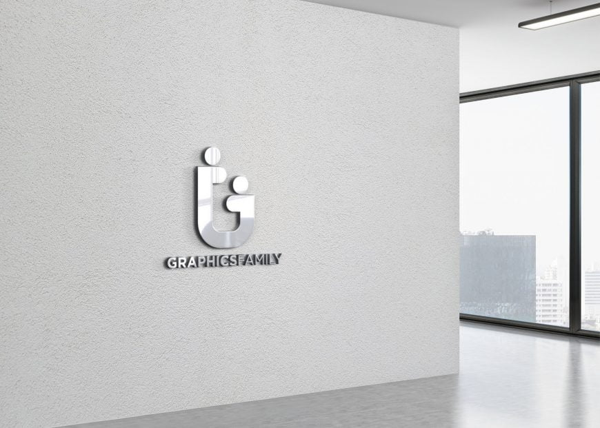 Graphicsfamily-on-3d-office-wall