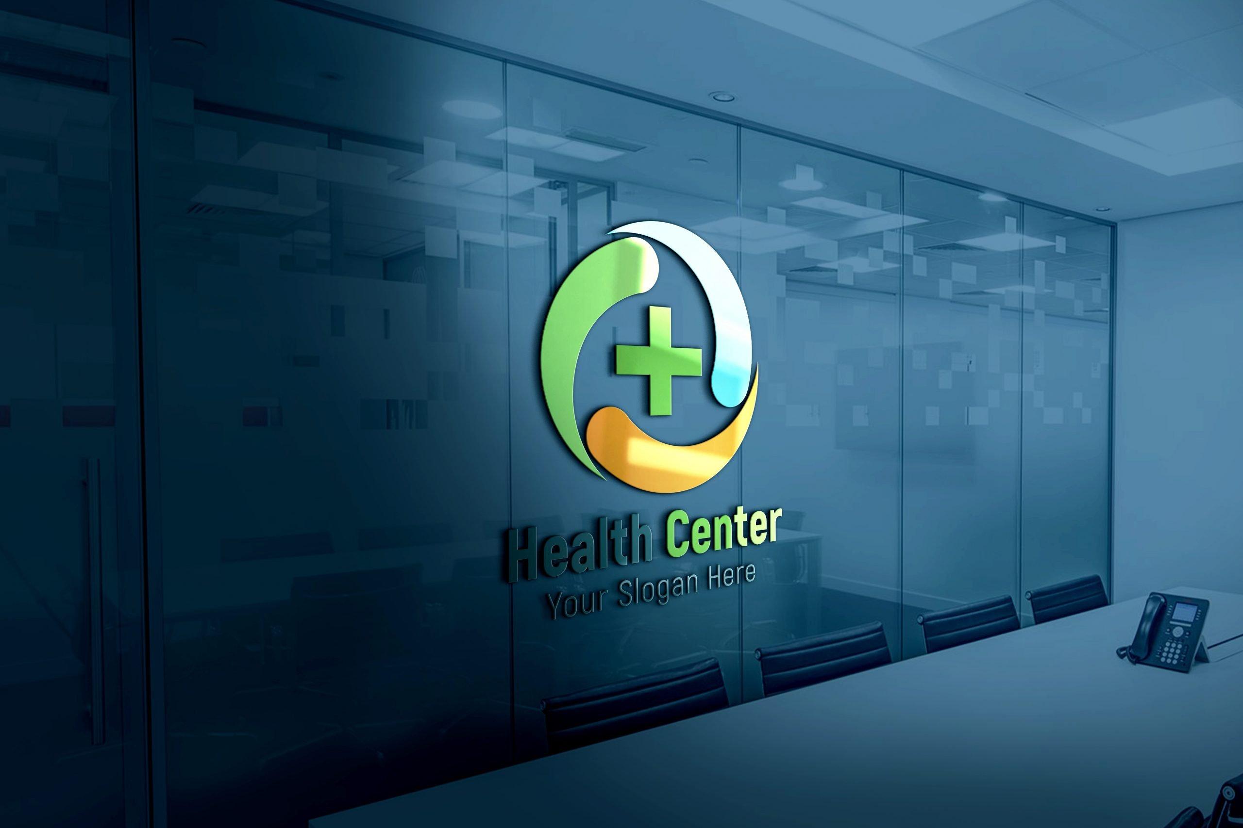 Health care medical logo Design psd