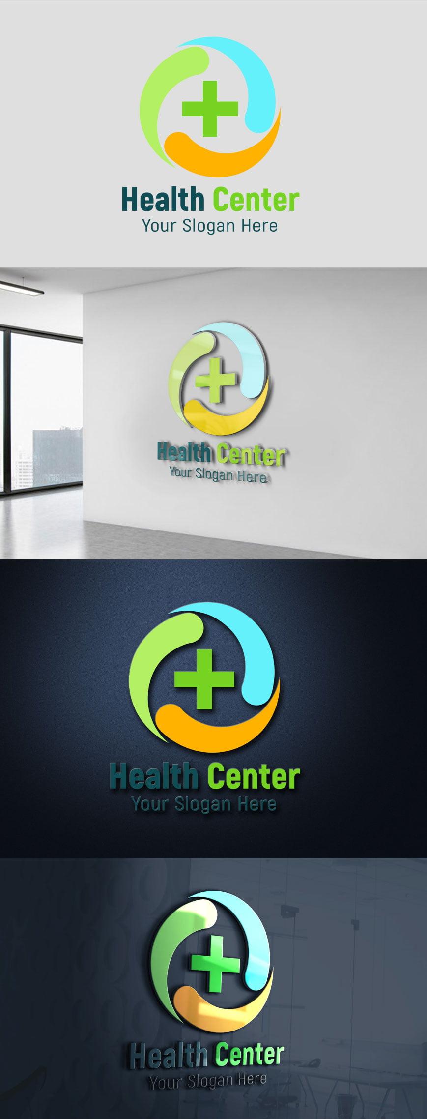 Healthcare Logo Design psd