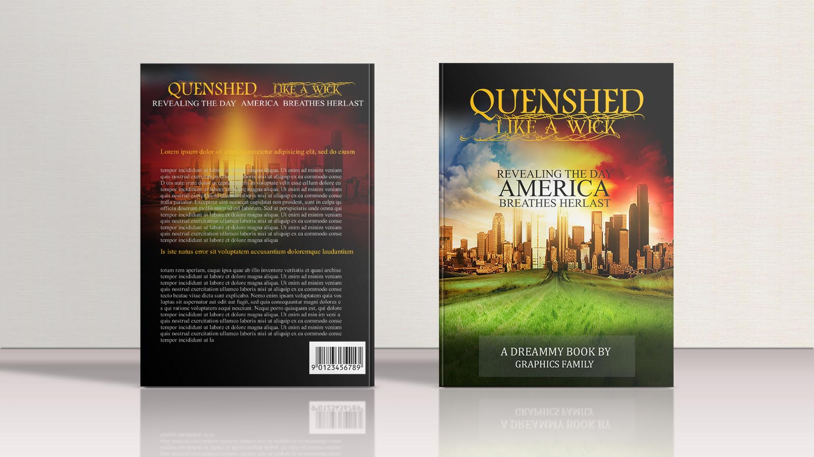 Historical Book cover Design Template