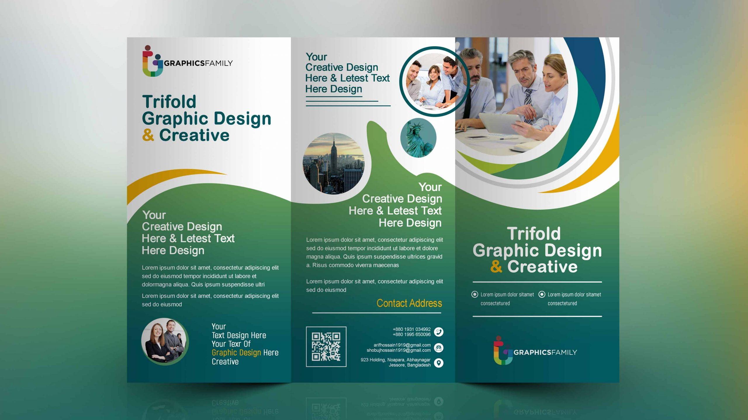 Medical Tri Fold Brochure Design