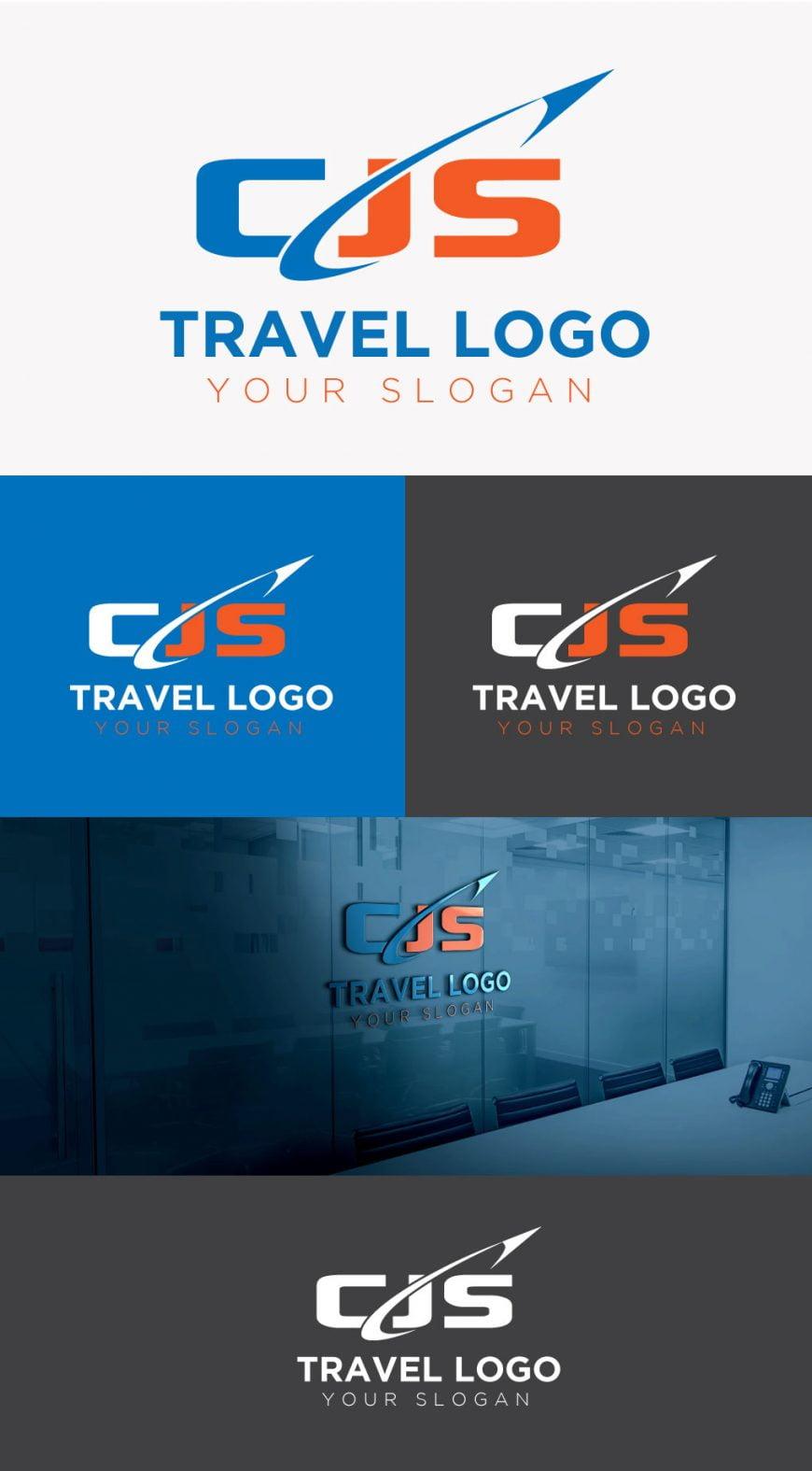 Modern-travel-logo-template