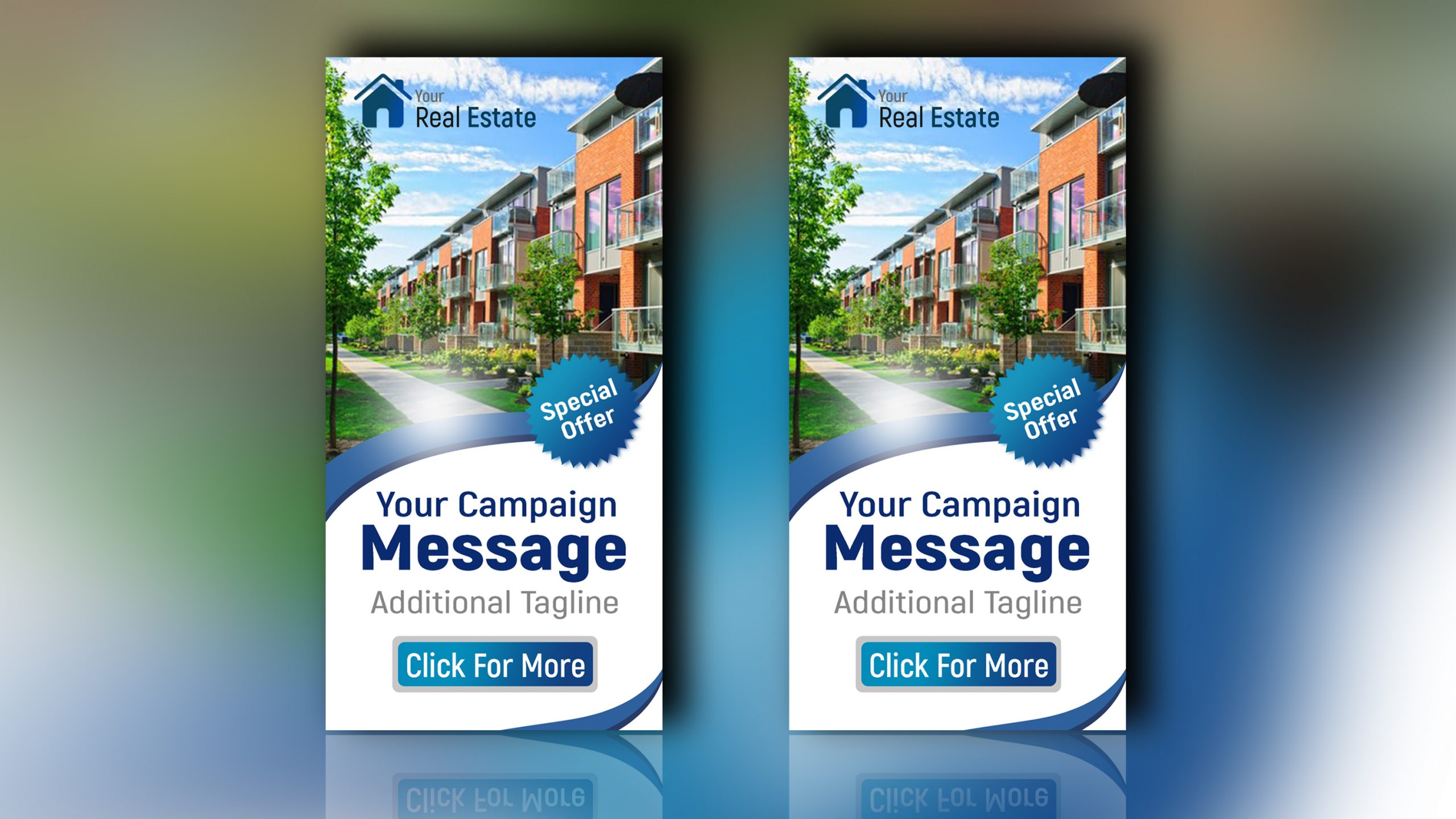 Real Estate Banner design