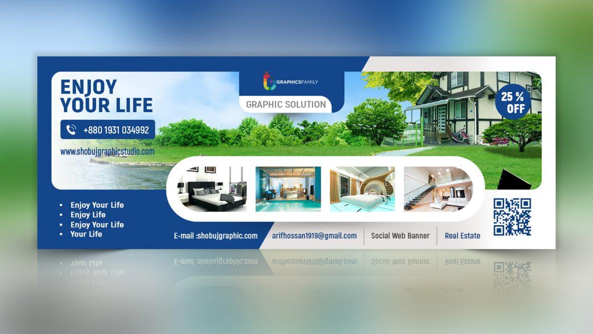 Real-estate-web-banner-design