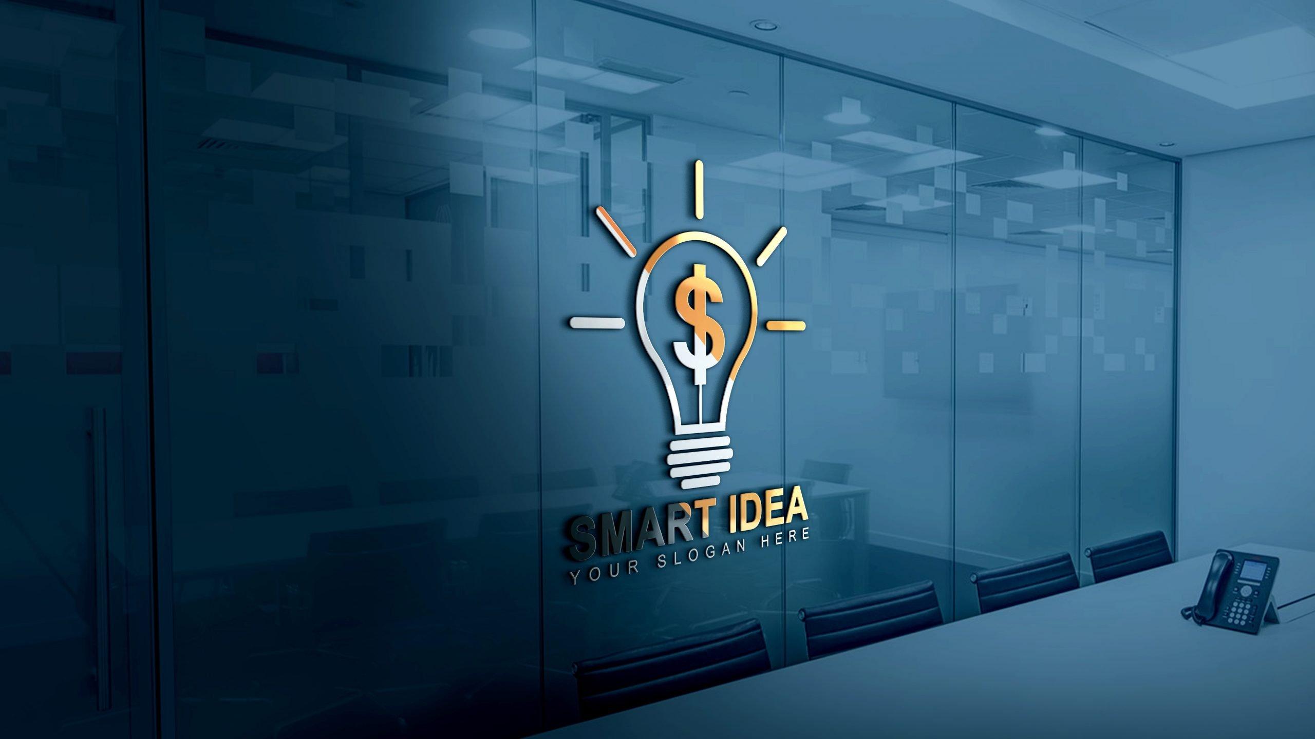 Smart Idea Logo Design Template